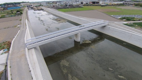七瀬川河川整備工事