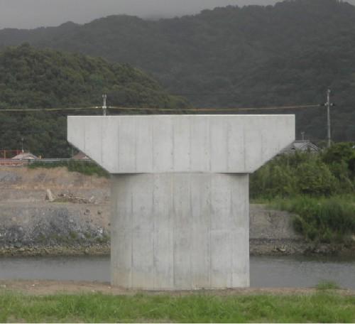 白浜温泉線(仮称新富田橋下部その1)道路改良工事