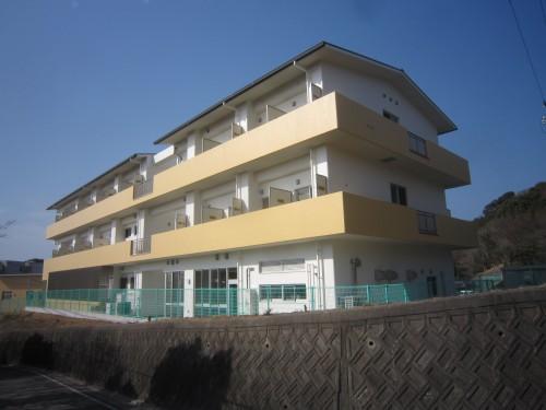 和歌山北高校西校舎寄宿舎建築工事