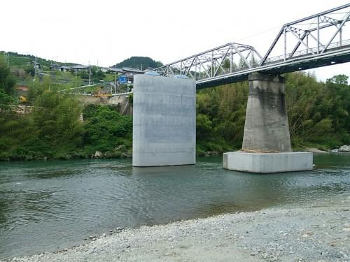 山内恋野線(恋野橋下部工その2)道路改良工事