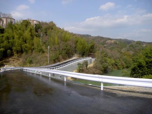 紀北西道路奥の池橋下部他工事