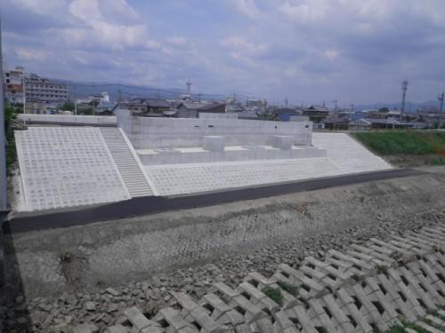泉佐野岩出線外1線(岩出橋下部A1)道路改良工事