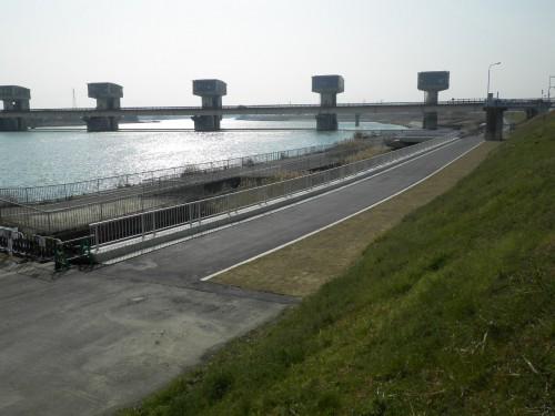 紀の川緊急河川敷道路橋梁架替工事(表彰受賞)