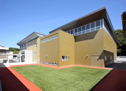 和歌山北高校西校舎体操練習場建築工事